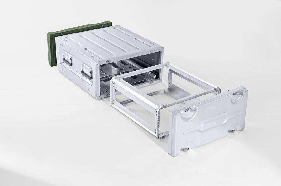 Cajas-rack de aluminio