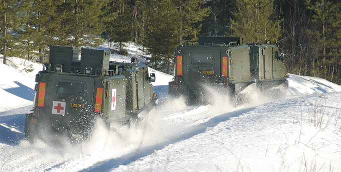 Cajas de aluminio para transporte ZARGES High Tech Military nieve