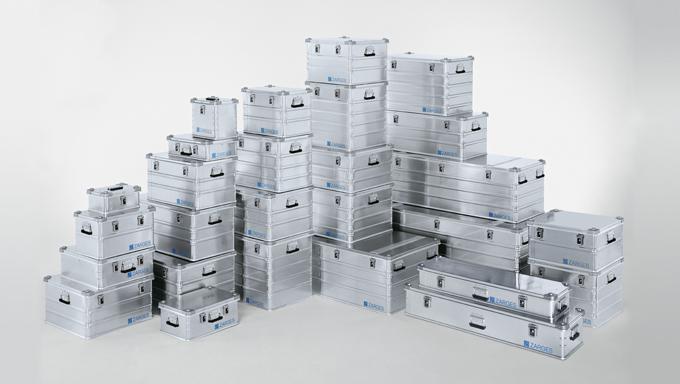 Cajas de aluminio Zarges K470