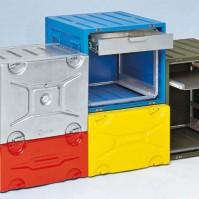 Cajas rack de aluminio para transporte High Tech Mitraset